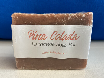 Pina Colada Handmade Soap Bar - 5oz - VEGAN