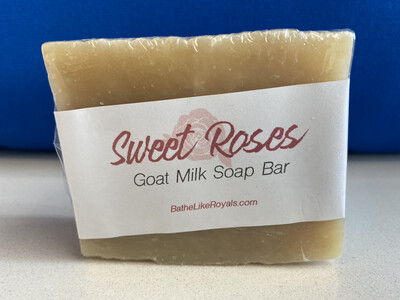 Sweet Roses Goat Milk Soap Bar - 5oz