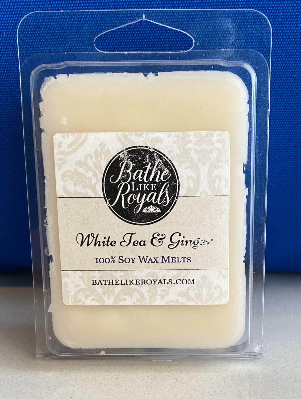 White Tea & Ginger - 3.5oz Wax Melts