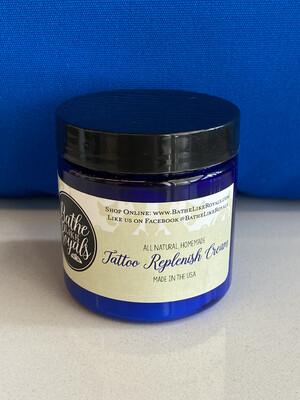 All Natural, Tattoo Replenish Cream - 4oz