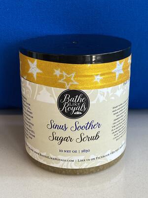 Sinus Soother Sugar Scrub - 10oz - Non-GMO - Organic Sugar