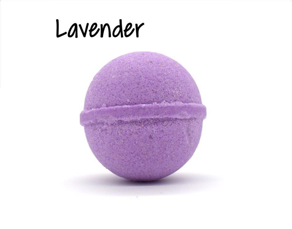 Lavender Goat Milk Bath Bomb - 5oz WGMS-LBB