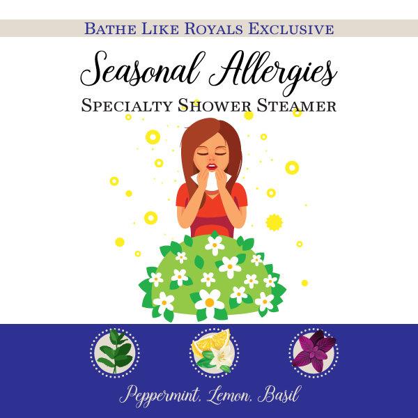 BLR Specialty Shower Steamer - Seasonal Allergies - Bundle of 2 SS-Seasonal