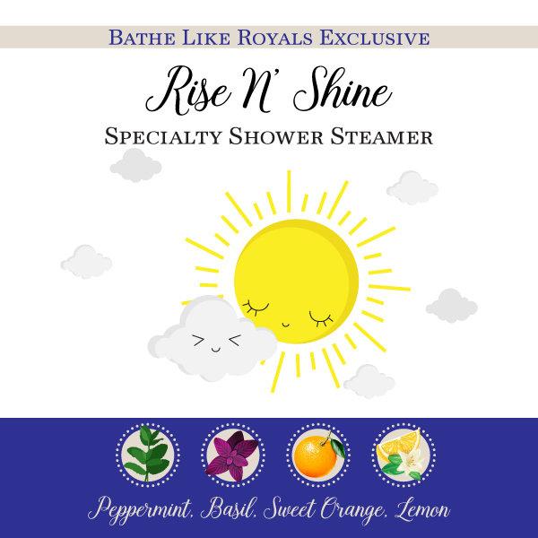 BLR Specialty Shower Steamer - Rise N' Shine - Set of 2 SS-Morning
