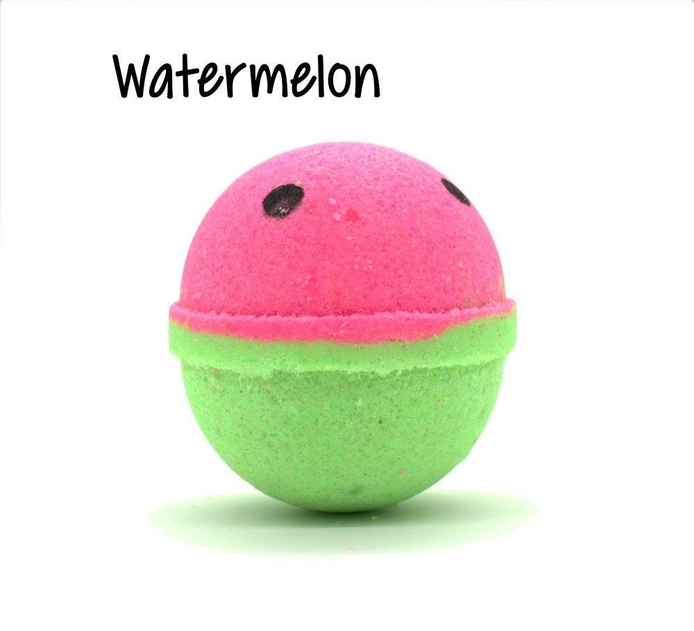 Watermelon Small Goat Milk Bath Bomb - 5oz WGMS-WBB