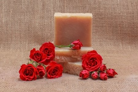 Sweet Roses Goat Milk Soap Bar - 5oz NSW-SRGMS