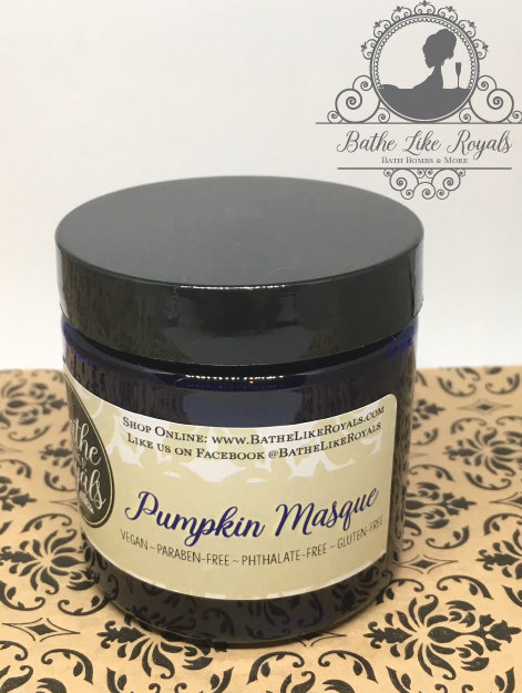 Pumpkin Masque - 4 oz - Vegan EW-PM4