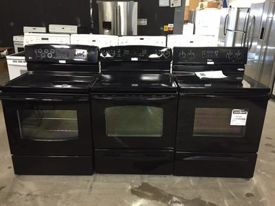 Black Ceran Top Convection Ranges