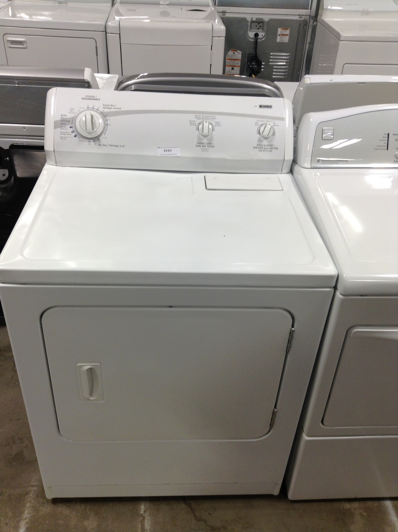 Kenmore Dryer 00025
