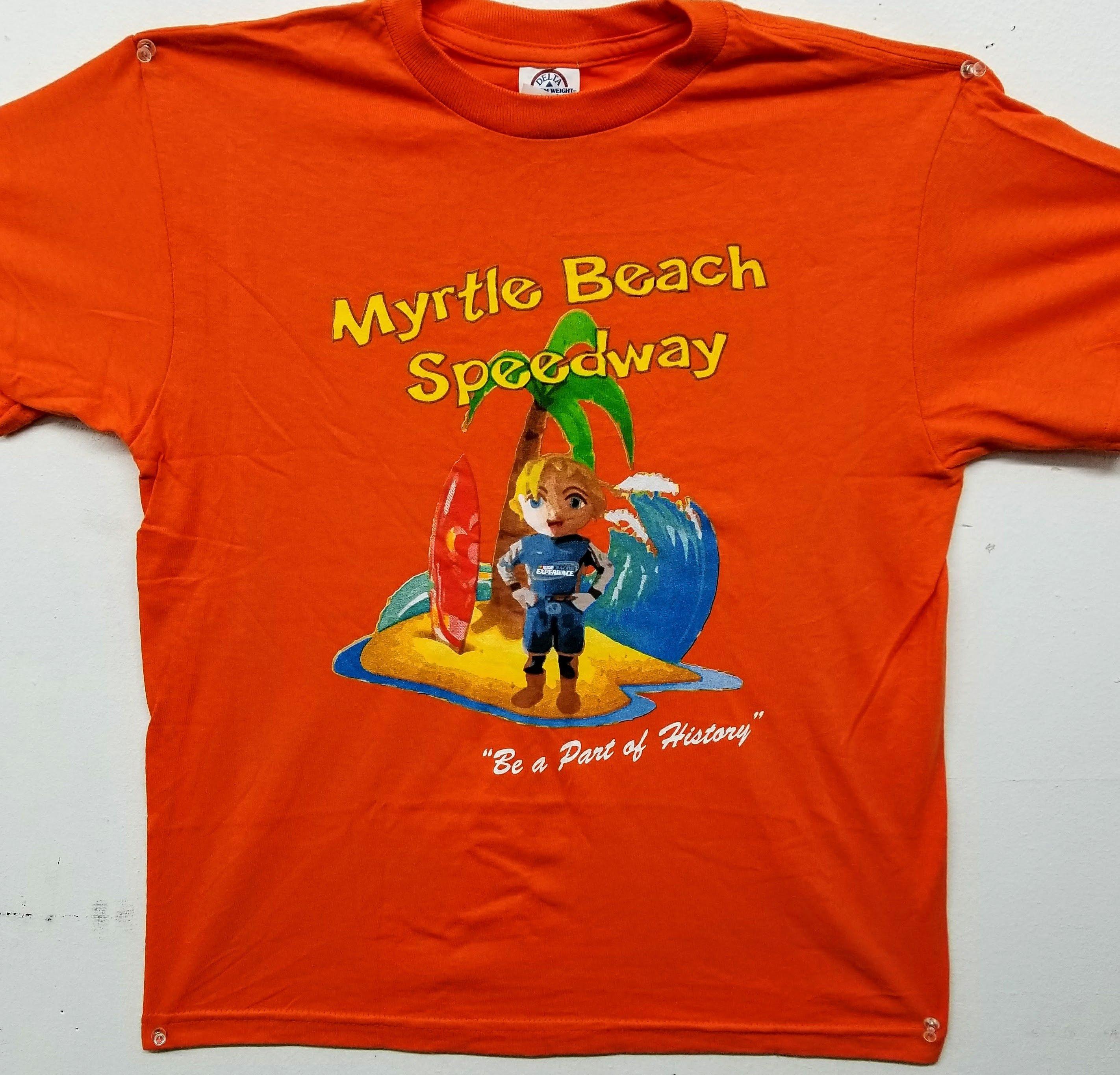 """""""LAPS"""" Myrtle Beach Speedway Kid's Tee 2017-04"""