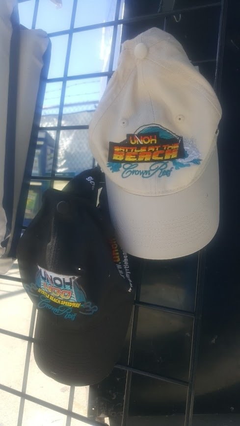 2015 Myrtle Beach 400 Hats