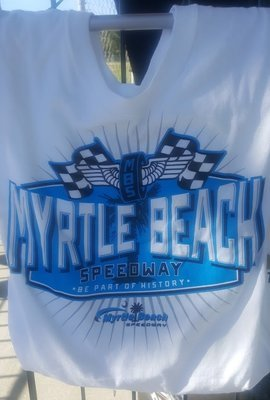 Myrtle Beach Speedway Adult 'Race' Tee