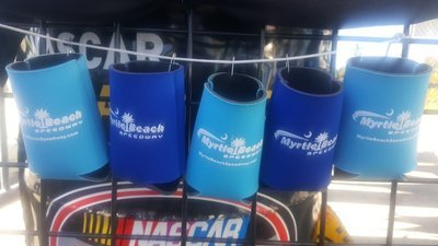 Myrtle Beach Speedway Can Coozies