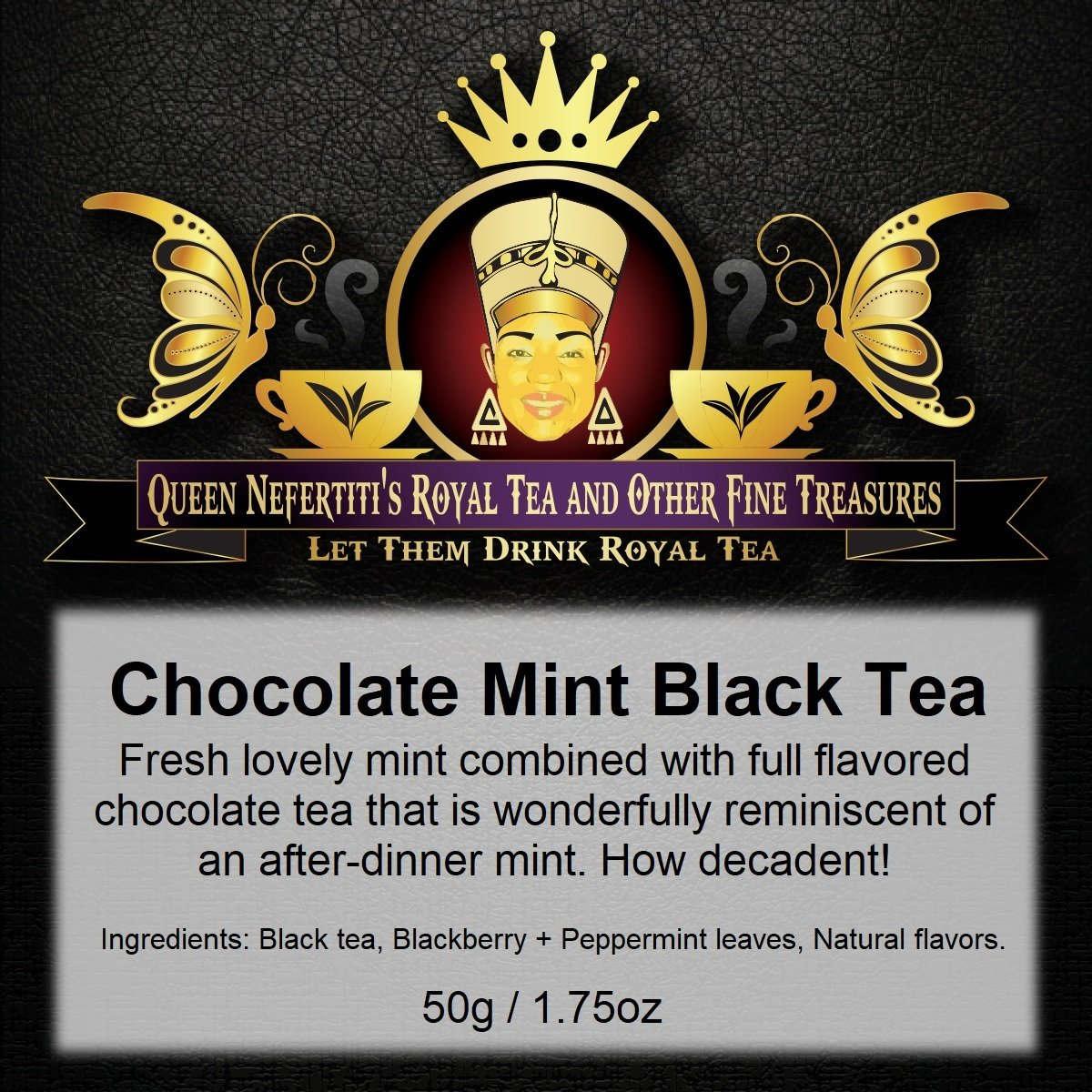 CHOCOLATE MINT BLACK TEA 50 G