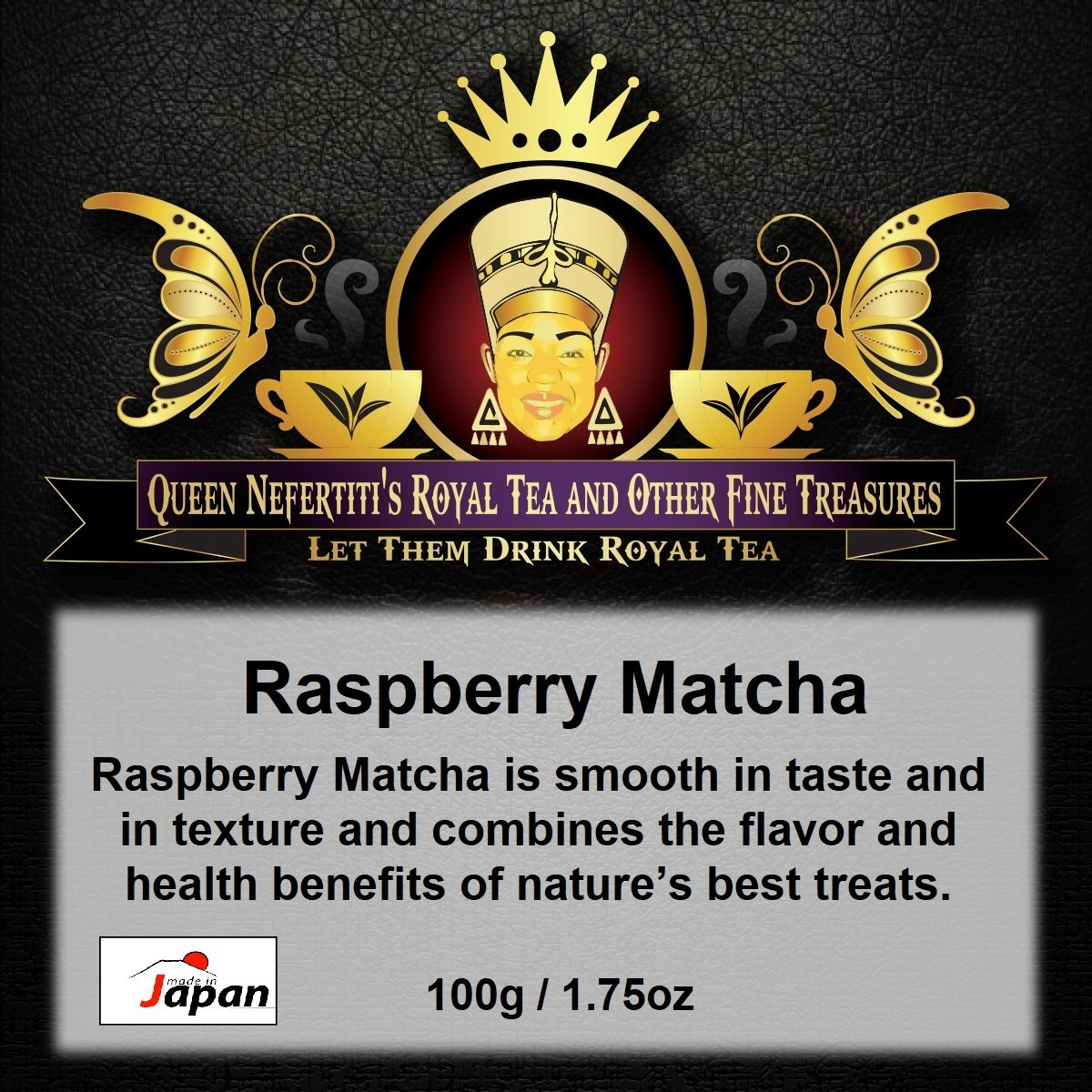 RASPBERRY MATCHA 100G