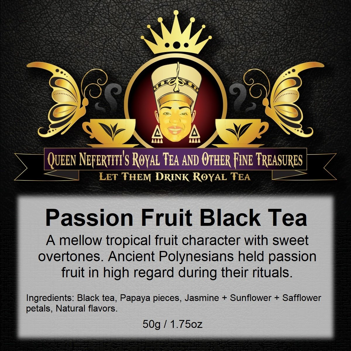 PASSION FRUIT BLACK TEA 50 G