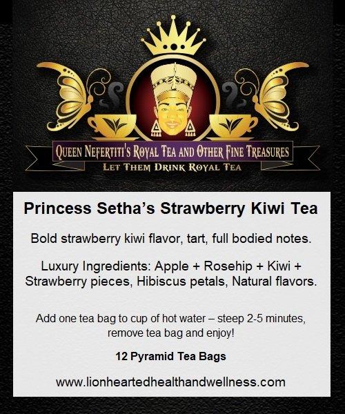 PRINCESS SETHA'S STRAWBERRY KIWI TEA (IN SACHETS)