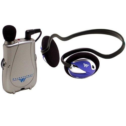 Williams Sound PockeTalker Ultra with Rear-Wear Headphone PKT-D1-H26