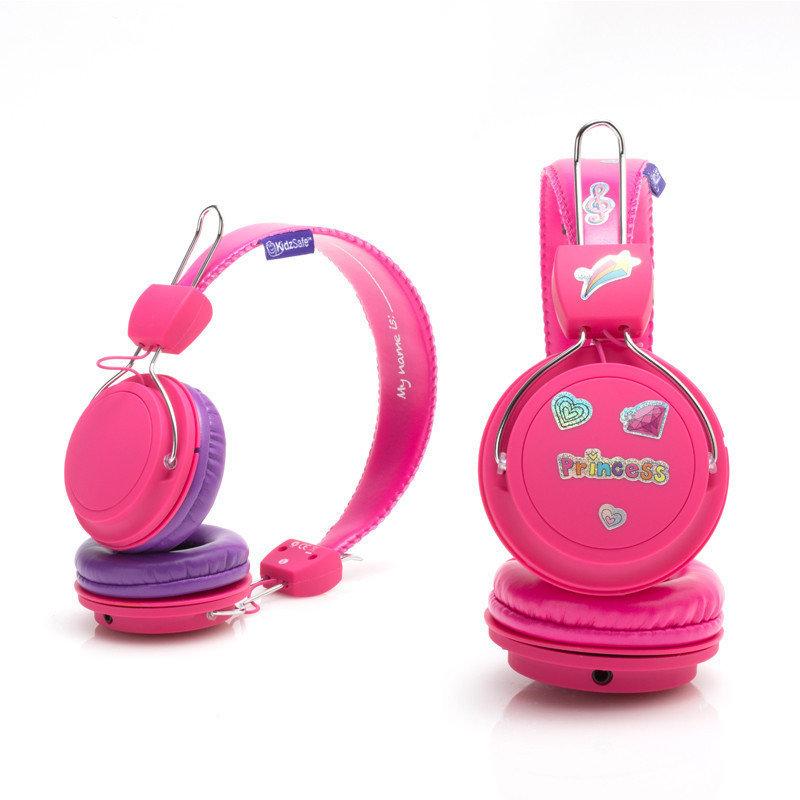KidzSafe Volume Controlling Headphones - Pink Color KS-2013-PINK-HP