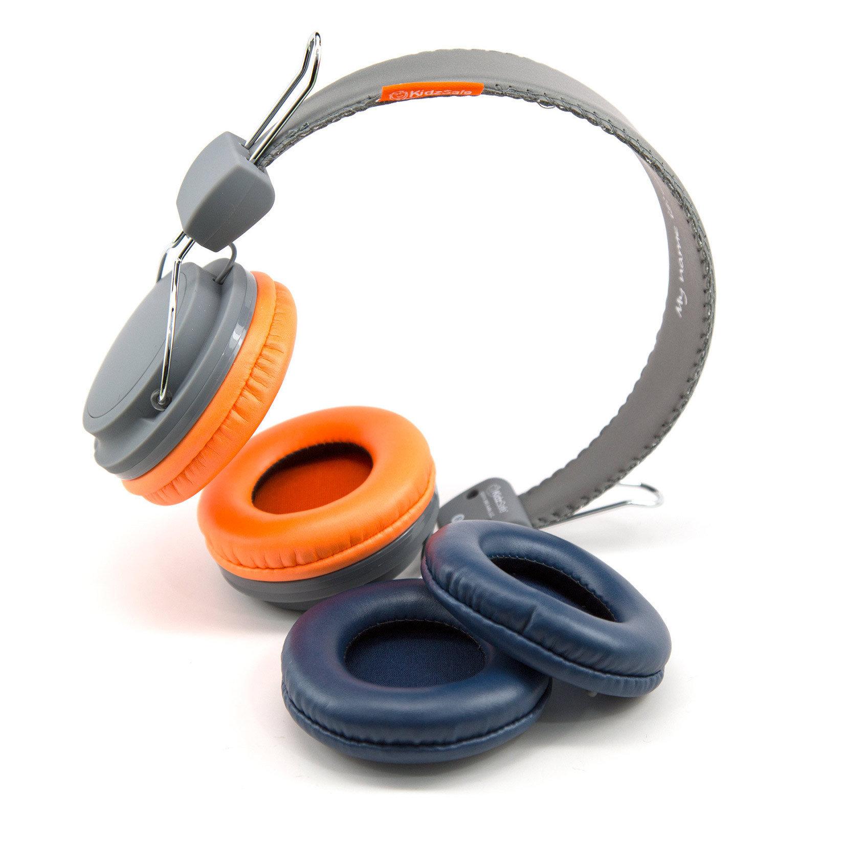 KidzSafe Volume Controlling Headphones - Gray Color KS-2013-GRAY-HP