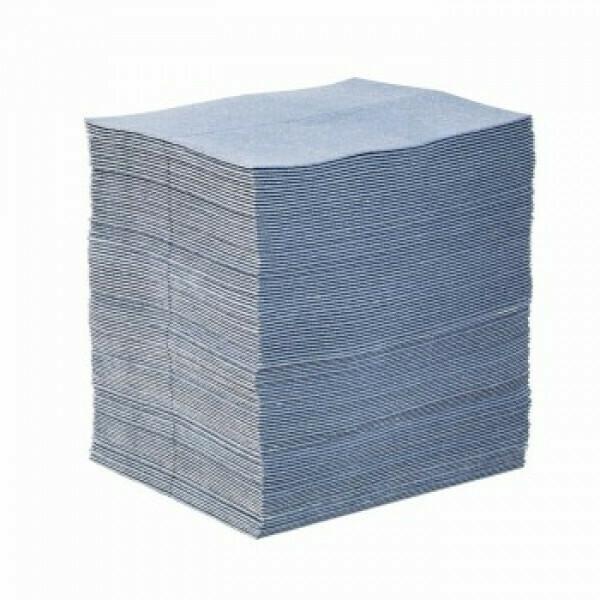 Feuilles-tapis absorbants PIG BLUE® - Simple Épaisseur