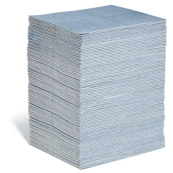 Feuilles-tapis absorbants PIG BLUE® - Triple Épaisseur