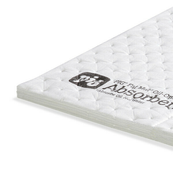 Tapis super absorbant PIG® FAT MAT®, Oil-Only - Triple Épaisseur