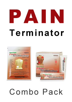 Pain Terminator Cream & Patch Combo Pack by Golden Sunshine 00132
