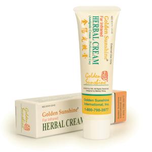 Pain Relief Herbal Cream 1.77 oz (50 gm) by Golden Sunshine 00161