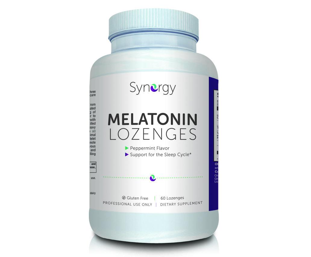 Synergy - Melatonin 3 mg - 60 Lozenges 00170