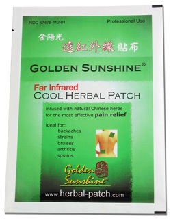 Far Infrared Cool Herbal Patch by Golden Sunshine 00061