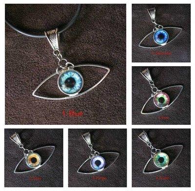 Third eye pendant, Evil eye pendant