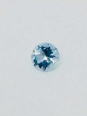 Blue Tourmaline .40ct