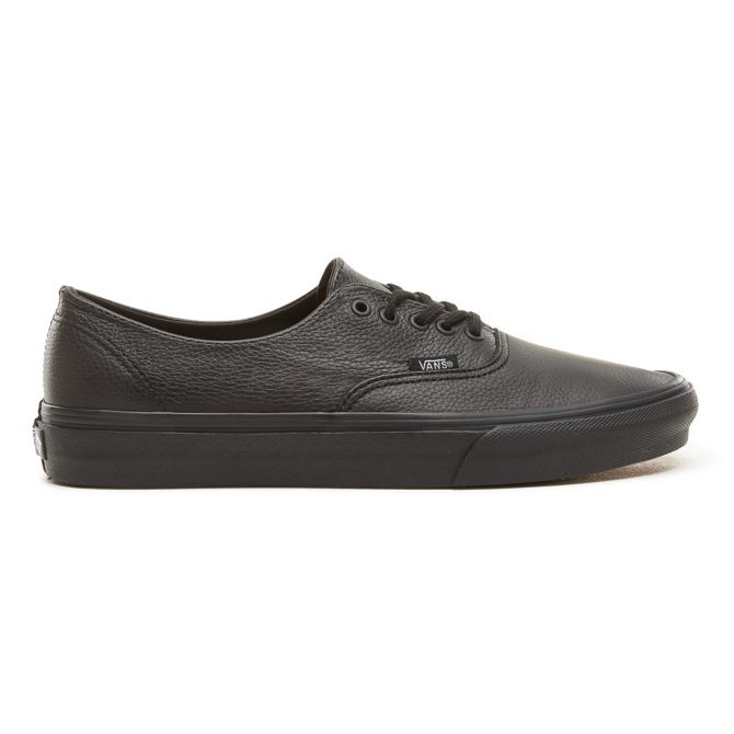 Vans Premium Leather Authentic Decon Black