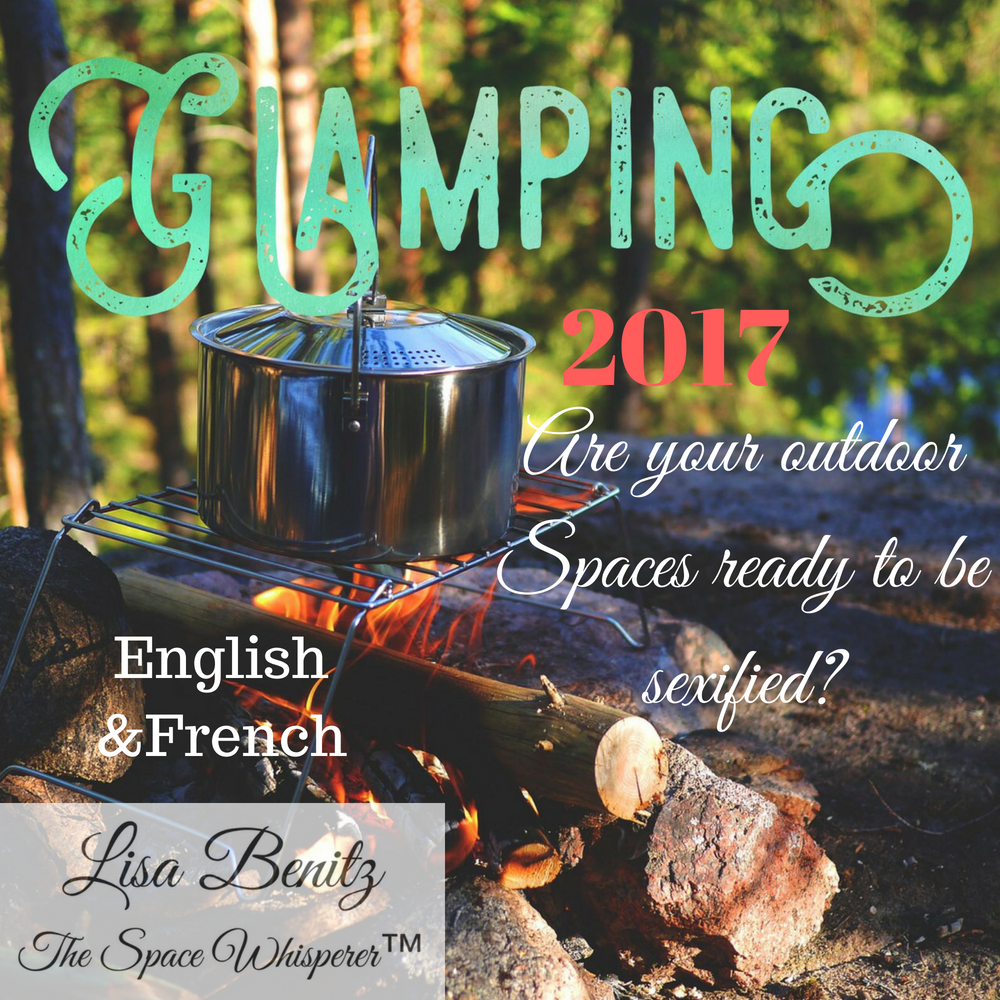 SSS 2017 ~ Camper autrement / Glamping ~ English & Français