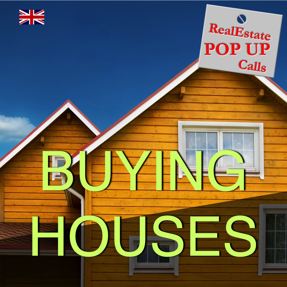 RealEstate POP UP Call - BUYING HOUSES - English
