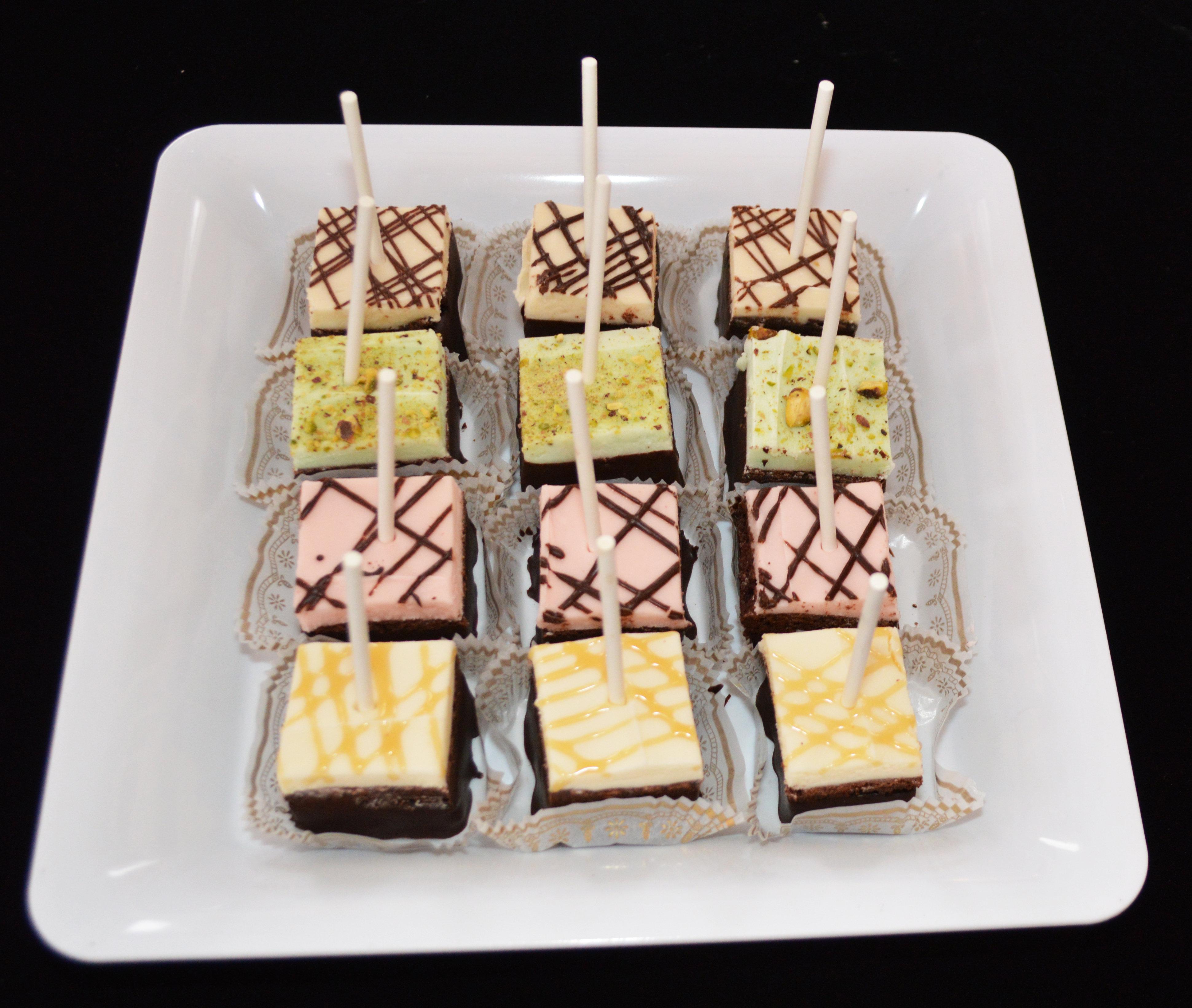 12 pack Variety Brownie Cubes 00031