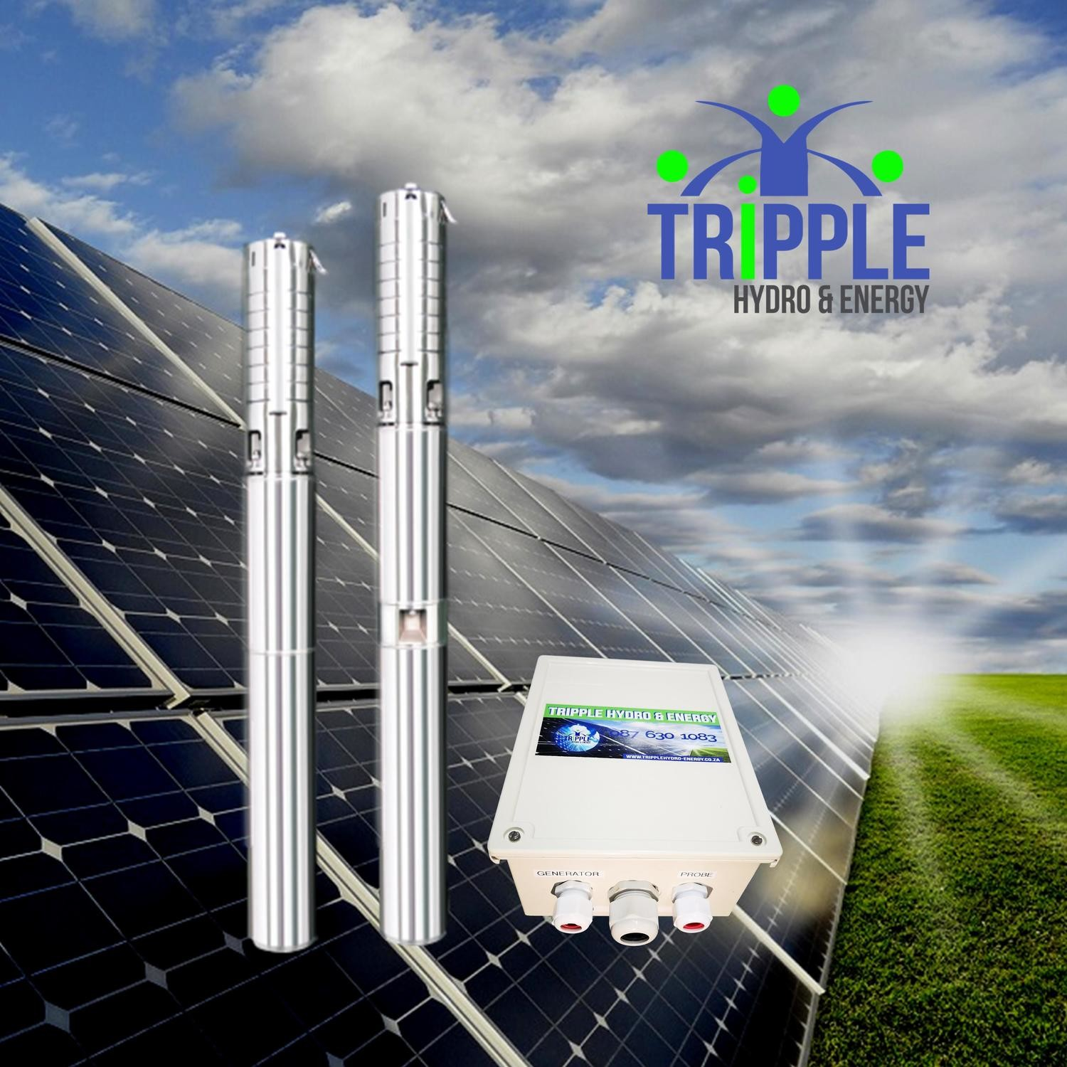 Multi-Flow Pen120 Hybrid Solar Pump (DC & AC)