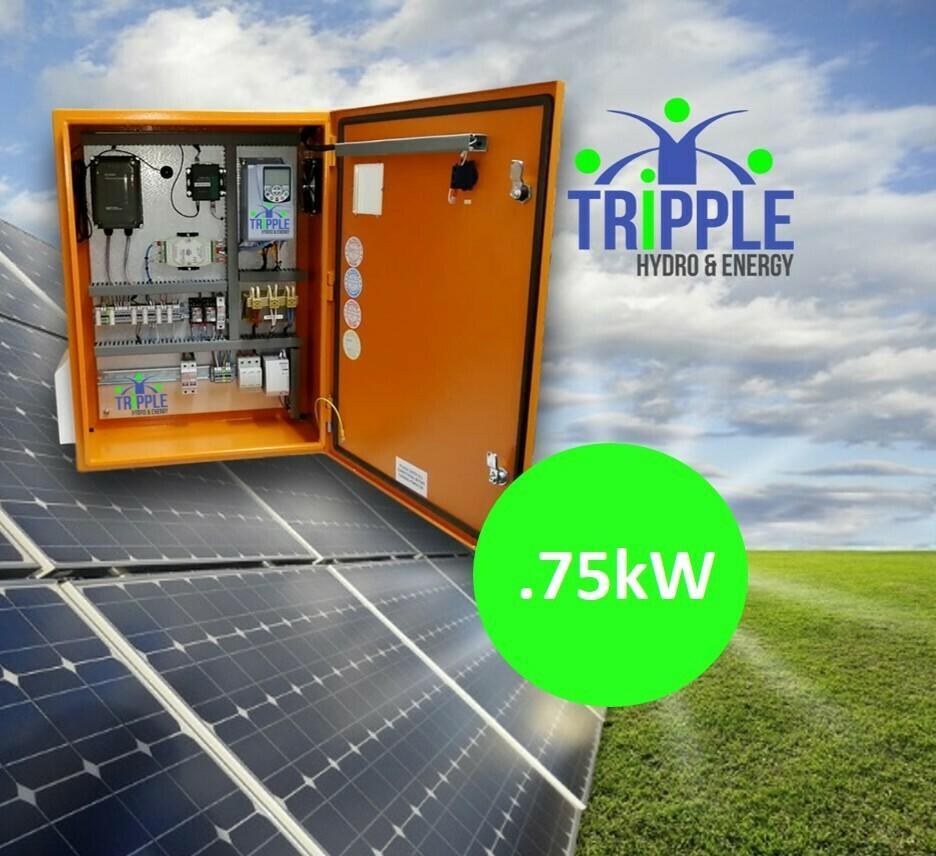 0.75kW Three Phase 220V Solar VSD Conversion Kit
