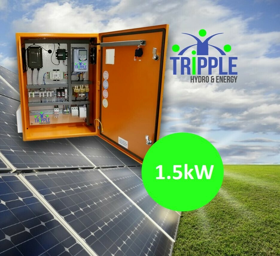 1.5kW Three Phase 220V Solar VSD Conversion Kit