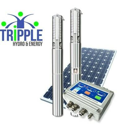 LEO Hybrid Solar Pump (DC & AC)