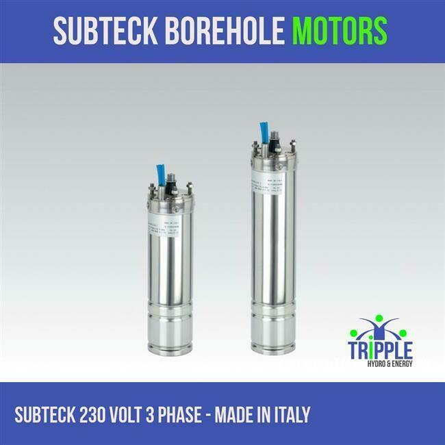 Subteck Oil Filled Motor - 0.75KW 220V - 3 Phase