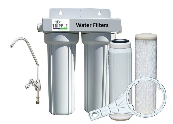 Water Filter  - Under Counter Filter Kit - 2 Stage