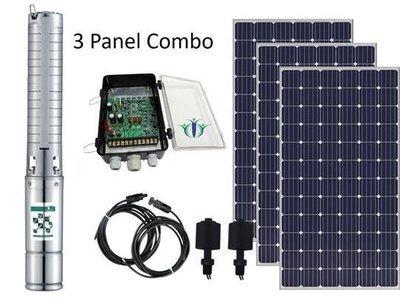 Pumpman Fortis 130-3 Solar Pump Combo