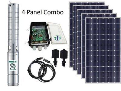 Pumpman Fortis 130-4 Solar Pump Combo