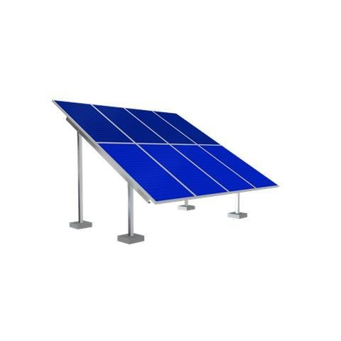 Solar Ground Mounting Frame - 2 Panel