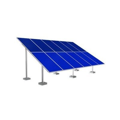 Solar Ground Mounting Frame - 12 Panel