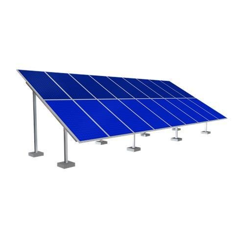 Solar Ground Mounting Frame - 18 Panel