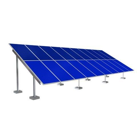 Solar Ground Mounting Frame - 20 Panel