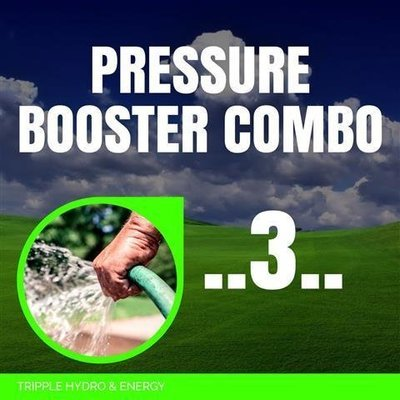 Booster Pump Combo 3 - Small Home Booster System